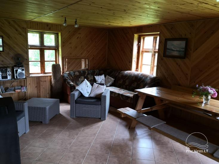 House for rent near the Curonian lagoon between Vente and Kintai - 5