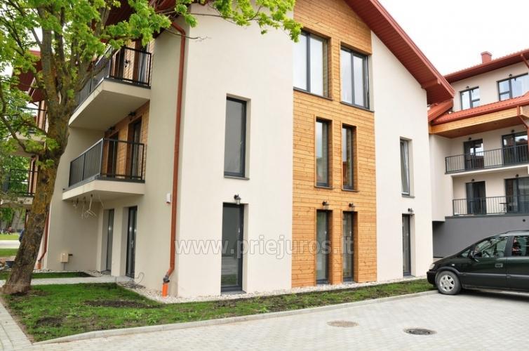 Nauji 2 kambarių apartamentai MALŪNO VILOS: pirmas aukštas, terasa-kiemelis - 6