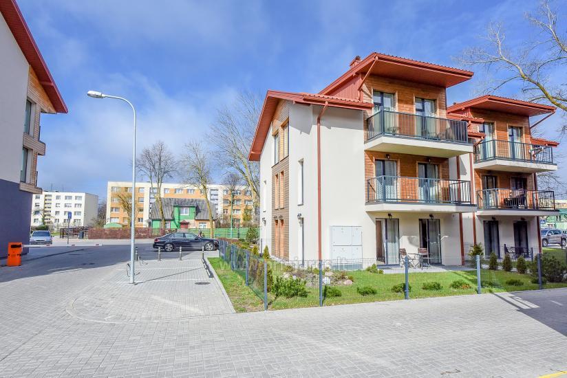 Nauji 2 kambarių apartamentai MALŪNO VILOS: pirmas aukštas, terasa-kiemelis - 2