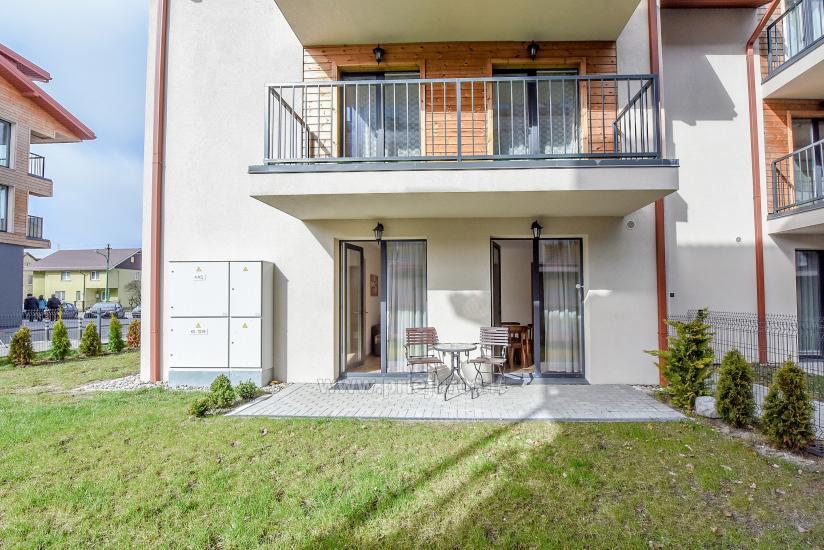 Nauji 2 kambarių apartamentai MALŪNO VILOS: pirmas aukštas, terasa-kiemelis - 4