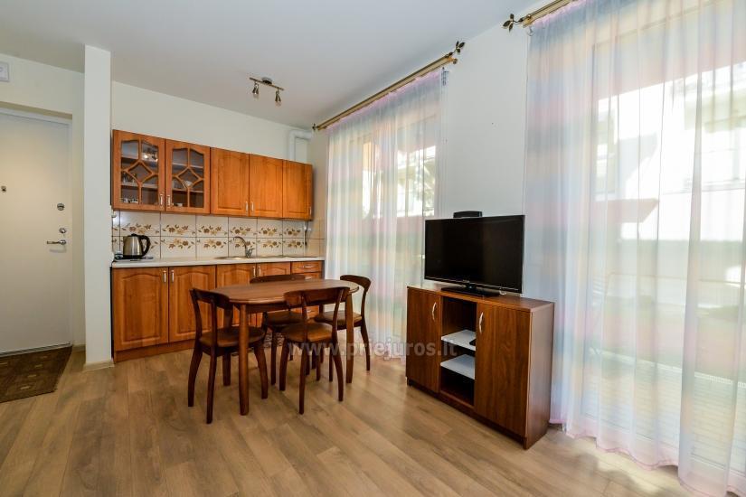 Nauji 2 kambarių apartamentai MALŪNO VILOS: pirmas aukštas, terasa-kiemelis - 7