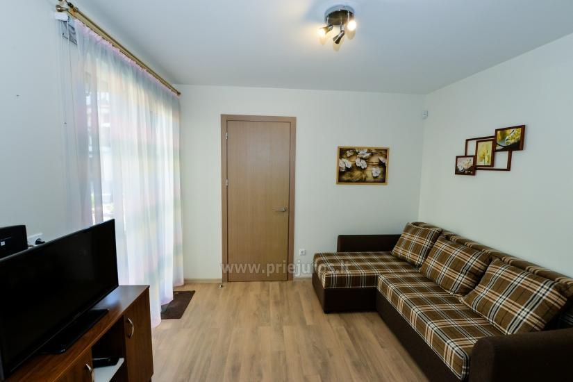 Nauji 2 kambarių apartamentai MALŪNO VILOS: pirmas aukštas, terasa-kiemelis - 9