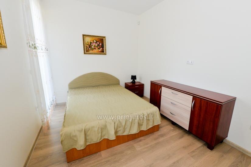 Nauji 2 kambarių apartamentai MALŪNO VILOS: pirmas aukštas, terasa-kiemelis - 10