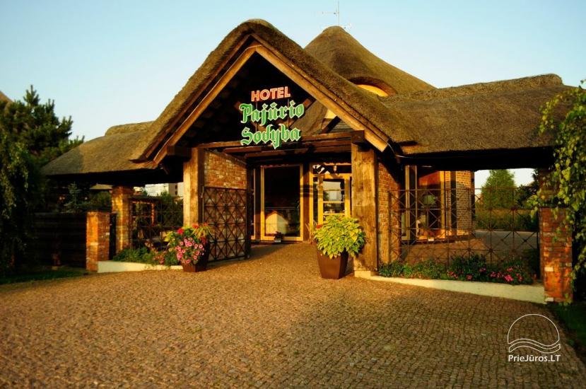 Hotel in Sventoji (Palanga) an  der Ostsee Pajurio sodyba - 1
