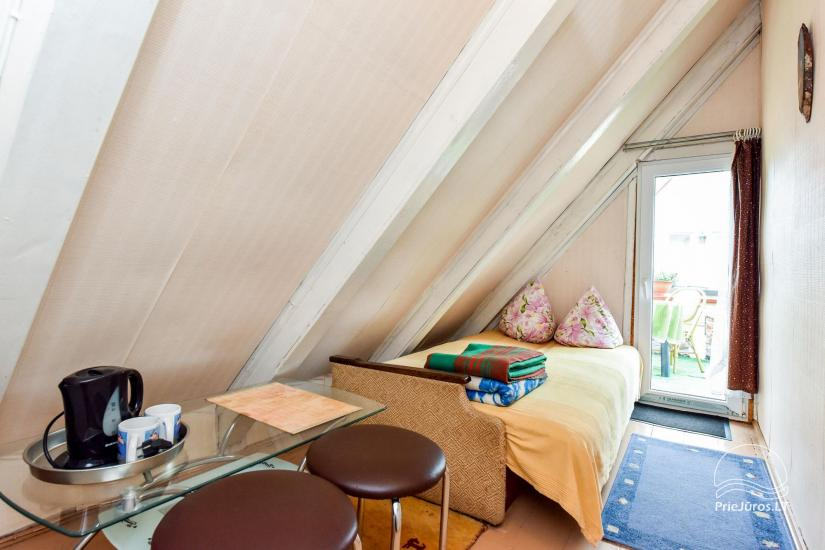 No. 10 Attic room on the 2nd floor with balcony and common amenities