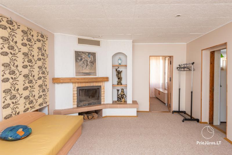2-5 vietų kambarių nuoma Šventojoje. Su atskirais patogumais, kai kurie su balkonu ar terasa