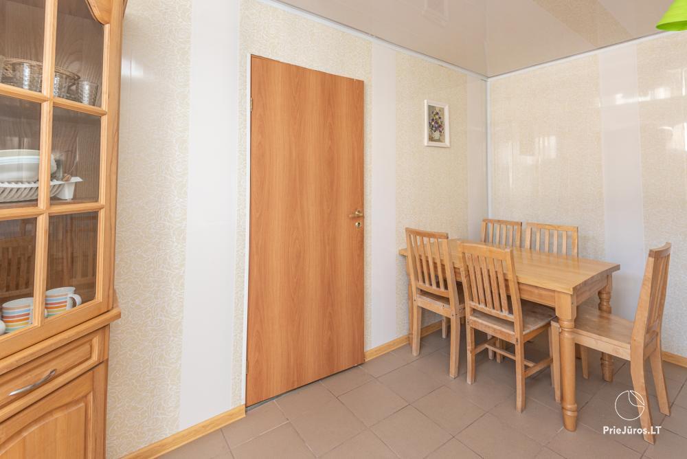 2-5 vietų kambarių nuoma Šventojoje. Su atskirais patogumais, kai kurie su balkonu ar terasa - 4