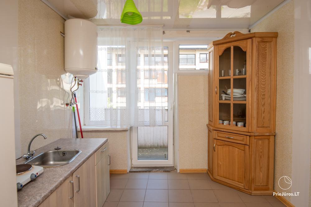 2-5 vietų kambarių nuoma Šventojoje. Su atskirais patogumais, kai kurie su balkonu ar terasa - 3