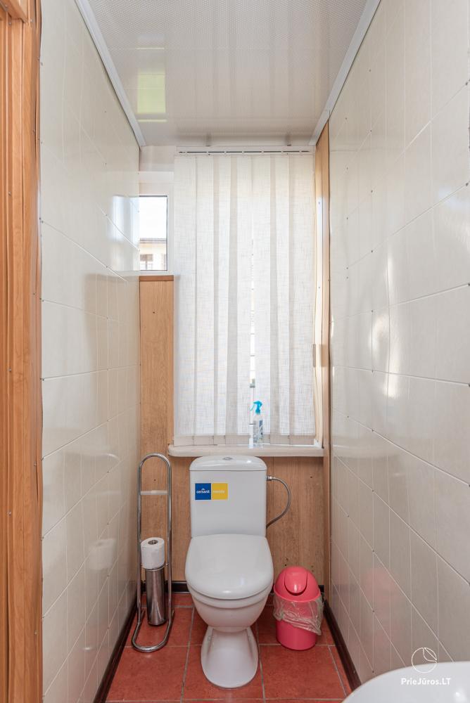 2-5 vietų kambarių nuoma Šventojoje. Su atskirais patogumais, kai kurie su balkonu ar terasa - 1