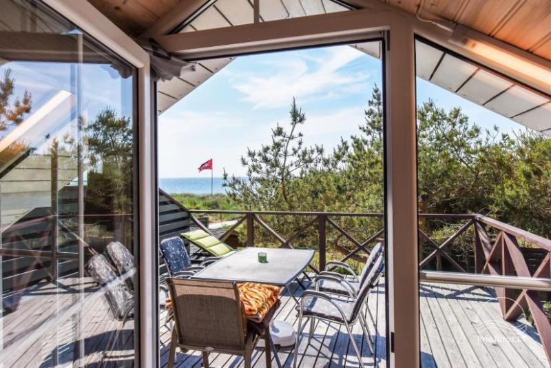 """Kambarių, namelių nuoma Šventojoje su vaizdu į jūrą """"Kopa-Jūra"""""""