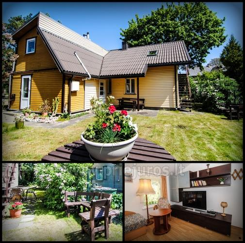 Economy class House (second floor) for rent in Palanga Klevas - 1