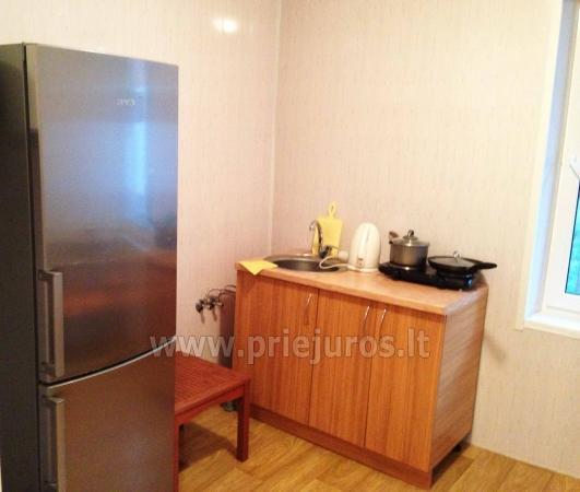 One room apartment with patio in Pervalka - 7