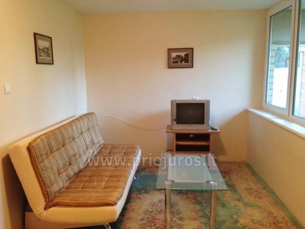 One room apartment with patio in Pervalka - 9