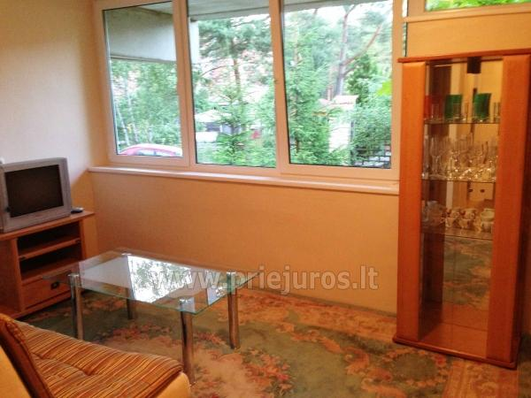 One room apartment with patio in Pervalka - 10
