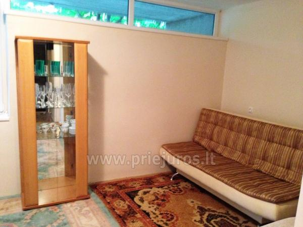 One room apartment with patio in Pervalka - 11