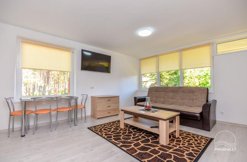Naujai įrengti dviejų kambarių butai Pervalkoje - 11