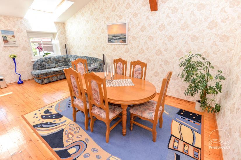 100 m² apartment for rent in Nida center - 1