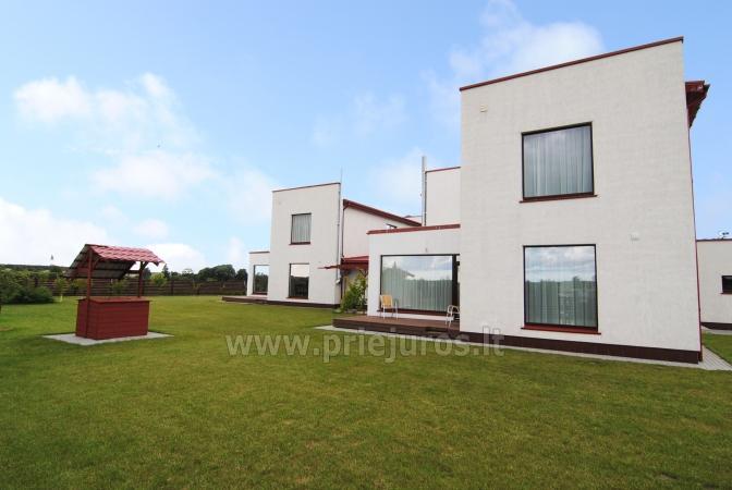 Haus zur Miete in Sventoji (Palanga): 4 Schlafzimmer, großes Wohnzimmer mit Küche, 3 Bäder