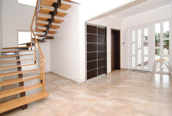 Haus zur Miete in Sventoji (Palanga): 4 Schlafzimmer, großes Wohnzimmer mit Küche, 3 Bäder - 4