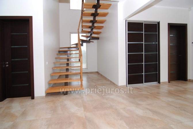 House for rent in Sventoji (Palanga): 4 bedrooms, wide living room with kitchen, 3 bathrooms - 5