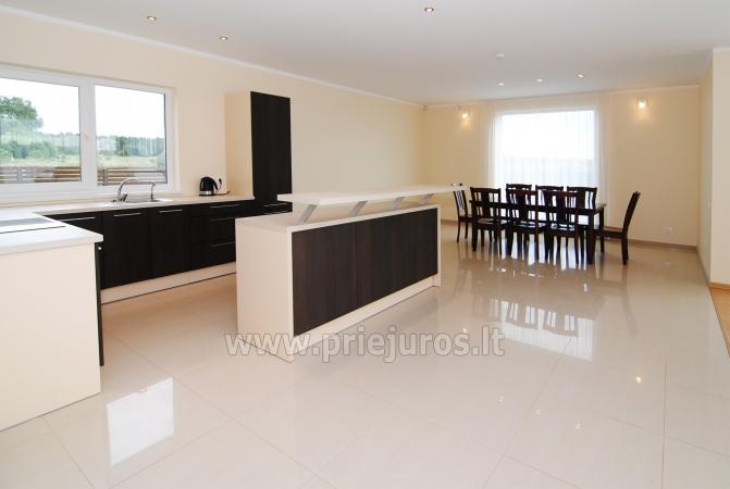 Haus zur Miete in Sventoji (Palanga): 4 Schlafzimmer, großes Wohnzimmer mit Küche, 3 Bäder - 7