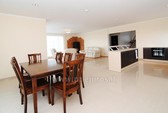 Haus zur Miete in Sventoji (Palanga): 4 Schlafzimmer, großes Wohnzimmer mit Küche, 3 Bäder - 9