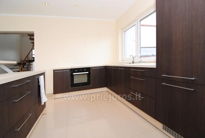 Haus zur Miete in Sventoji (Palanga): 4 Schlafzimmer, großes Wohnzimmer mit Küche, 3 Bäder - 11