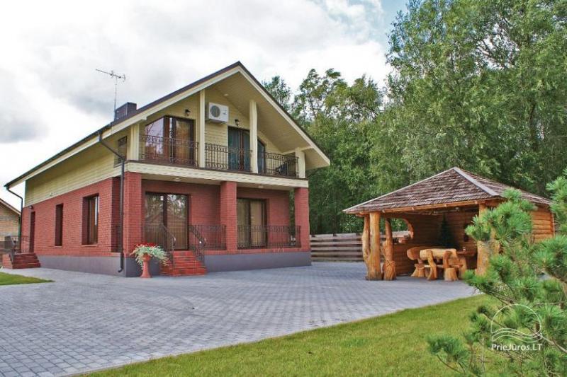 Holiday house in Palanga 300 to the beach - VILA LETA