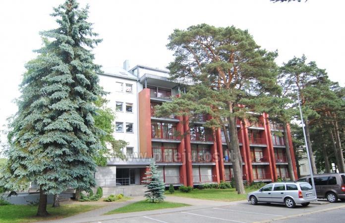 Divas istabas dzīvoklis ar balkonu Palangā, 700m no jūras - 2
