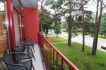Two rooms apartments with balcony in Palanga, 700m from the sea