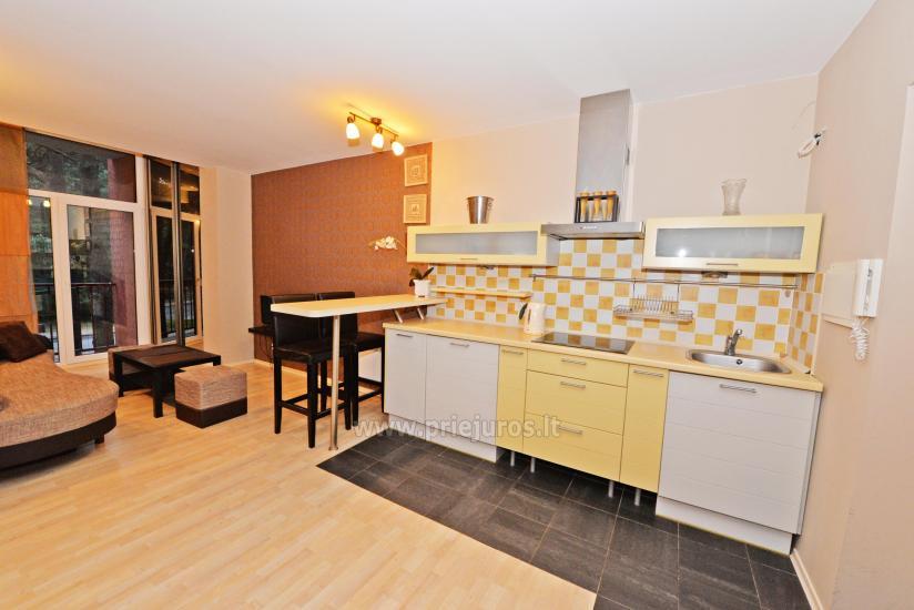 Divas istabas dzīvoklis ar balkonu Palangā, 700m no jūras - 3