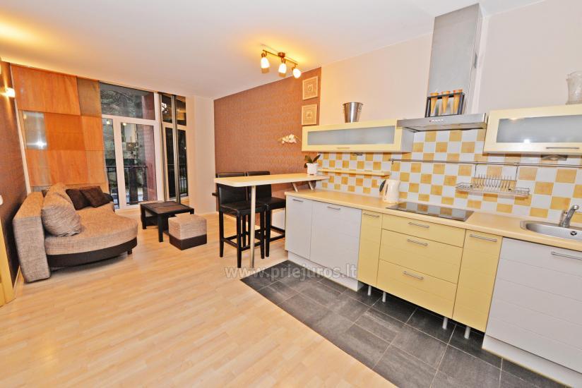 Divas istabas dzīvoklis ar balkonu Palangā, 700m no jūras - 4