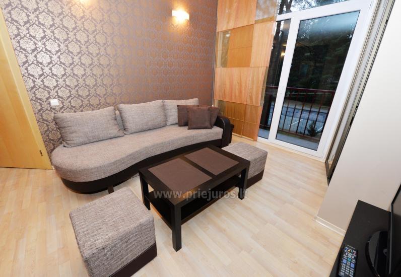 Divas istabas dzīvoklis ar balkonu Palangā, 700m no jūras - 6