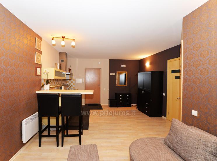 Divas istabas dzīvoklis ar balkonu Palangā, 700m no jūras - 8