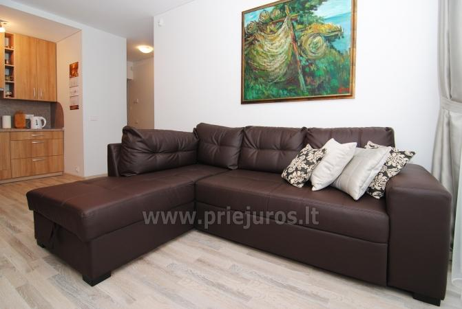 Palanga Apartment. Newly furnished, huge balcony - 9