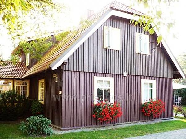 Dviejų kambarių butas autentiškame žvejo name Pervalkoje - 1