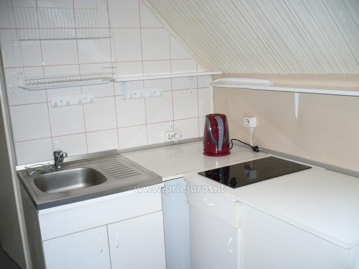 Dviejų kambarių butas autentiškame žvejo name Pervalkoje - 5