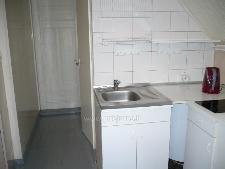 Dviejų kambarių butas autentiškame žvejo name Pervalkoje - 6