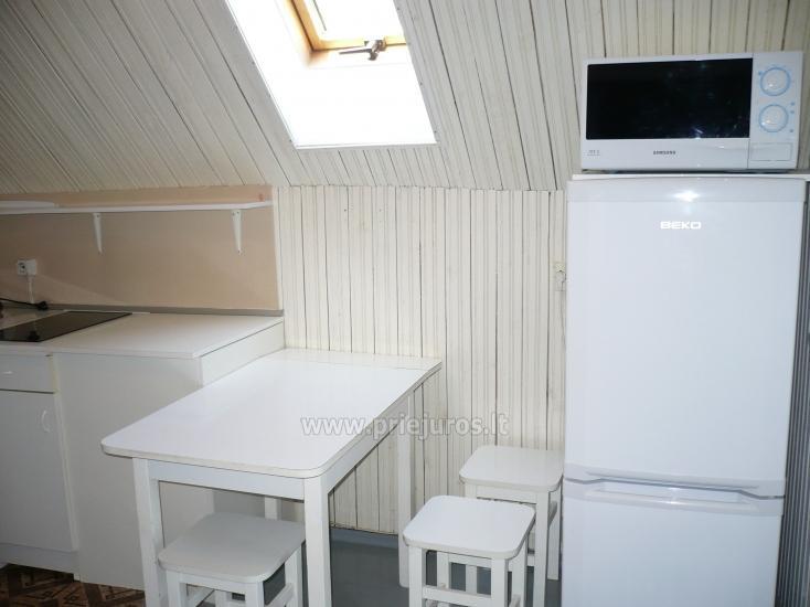Dviejų kambarių butas autentiškame žvejo name Pervalkoje - 7