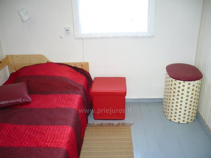 Dviejų kambarių butas autentiškame žvejo name Pervalkoje - 10