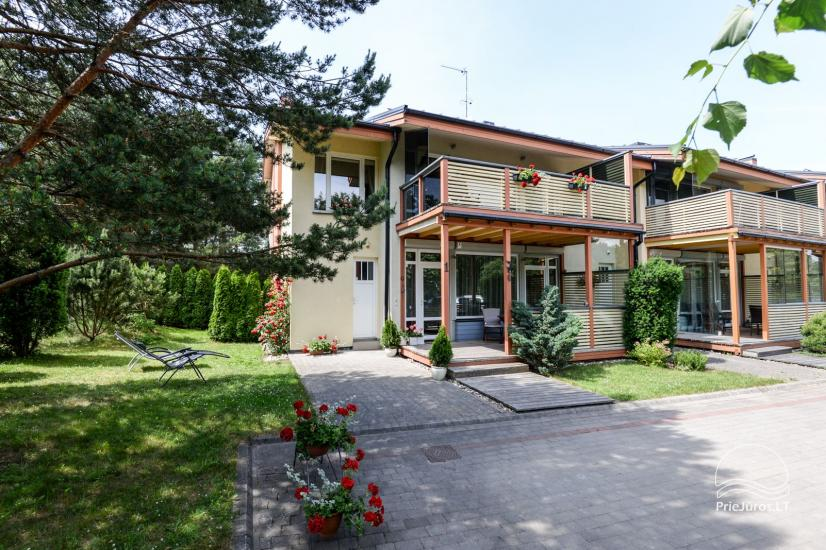 Cottage (apartment for 4-6 persons) with spacious yard, terrace in Palanga, in Vanagupes str. - 2