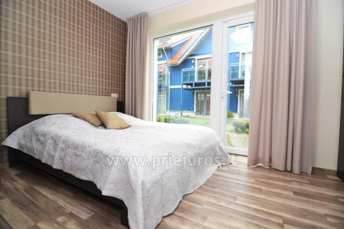 Cosy apartment on the Lagoon coast in Curonian Spit: fireplace, terrace - 4