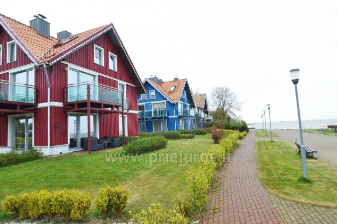 Cosy apartment on the Lagoon coast in Curonian Spit: fireplace, terrace - 8