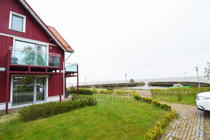 Cosy apartment on the Lagoon coast in Curonian Spit: fireplace, terrace - 9
