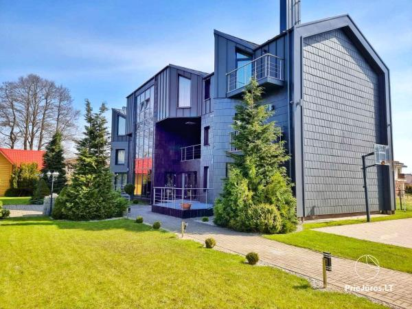 Apartments for rent in Kunigiskiai, just 200 meters to the sea!