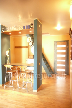 Modernūs apartamentai Smilčių g: iki jūros-600m, su balkonais, kiemeliu - 3