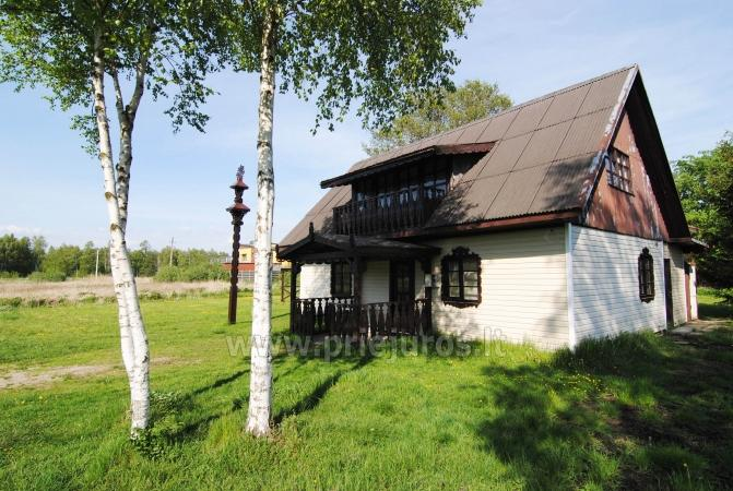 Economy class rooms for rent near Palanga