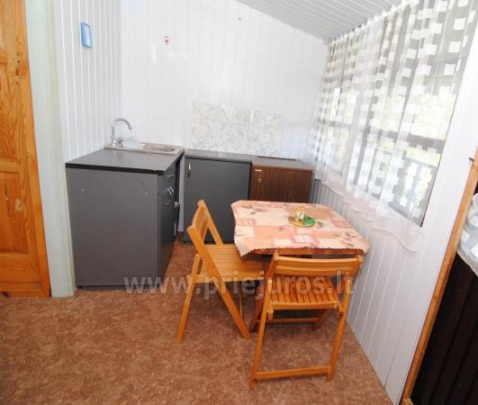 Nebrangi kambarių nuoma Kunigiškiuose netoli Jūros su dideliu kiemu - 13