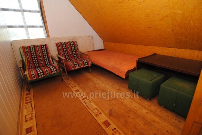 Nebrangi kambarių nuoma Kunigiškiuose netoli Jūros su dideliu kiemu - 14