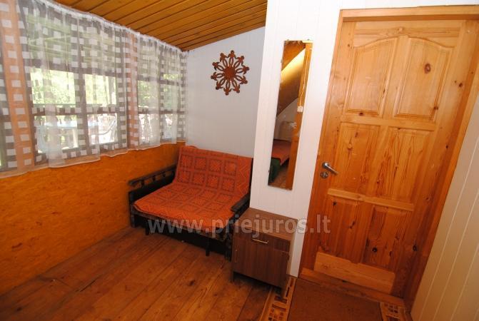 Nebrangi kambarių nuoma Kunigiškiuose netoli Jūros su dideliu kiemu - 15